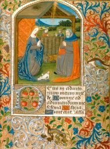 キリスト降誕、時間の帳(ルーアン、約1480)(アイリーンLeache記念財団によって与えられたクライスラー博物館2014.236は、アリスライスJaffe氏、1992のメモリを称えるために)