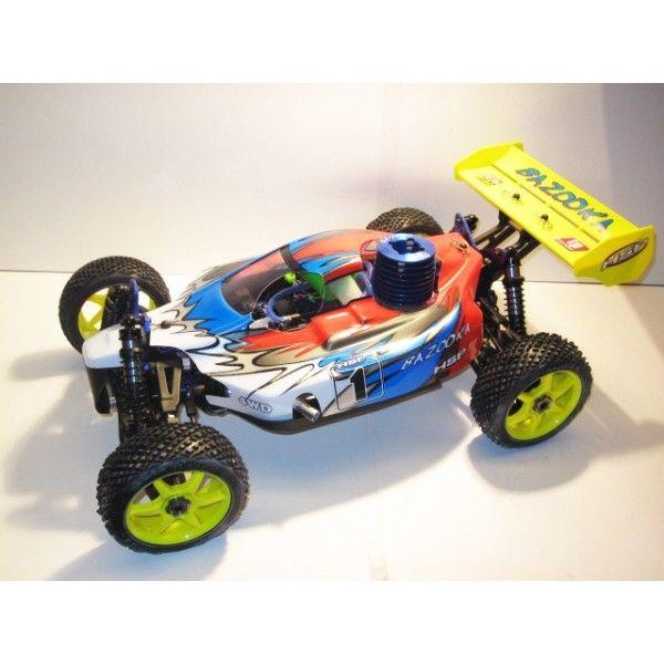 Descripción : El coche rc Bazooka de la marca HSP es uno de los más potentes y completos del mercado. Es el único que incluye de serie ...