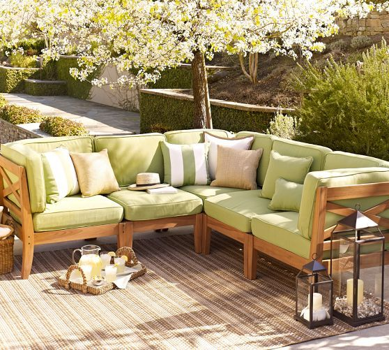 build your own hampstead teak sectional components