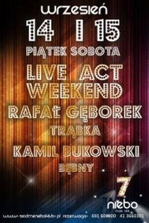 Rafał Gęborek Live Act