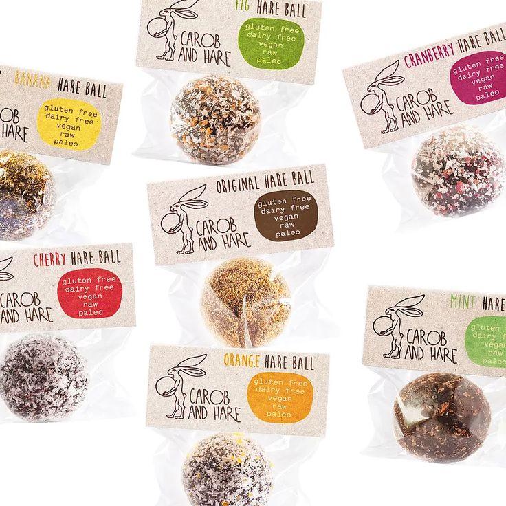 The Magnificent Seven Carob And Hare Carob, Raw snacks