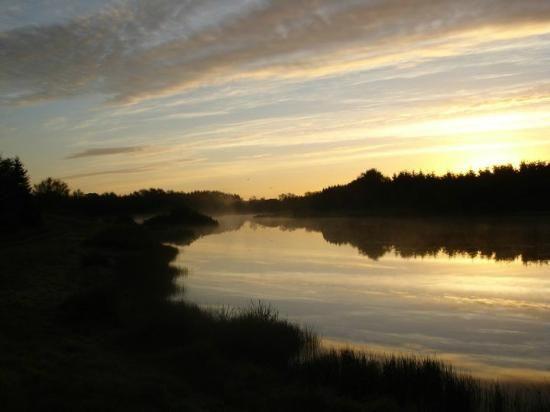 Silkeborg, Denmark: Early morning at the lake