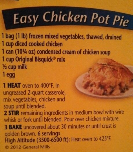 Easy chicken pie recipes for dinner