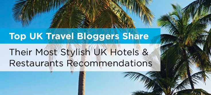I contacted some of the best UK travel bloggers to find out their recommendations for the most stylish independent restaurants and hotels in the UK. Posted to @hilden.