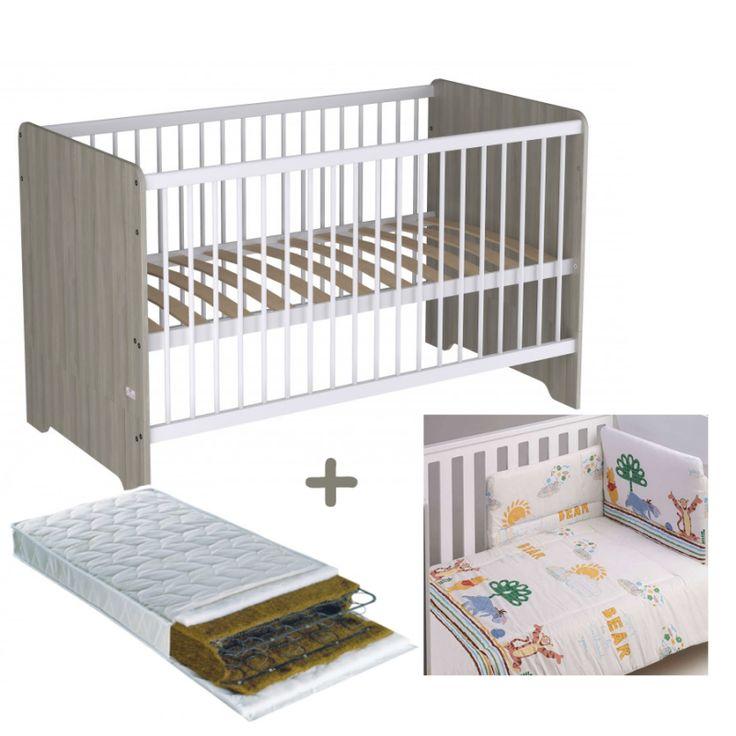 Polini kids κρεβάτι με στρώμα και προίκα μωρού