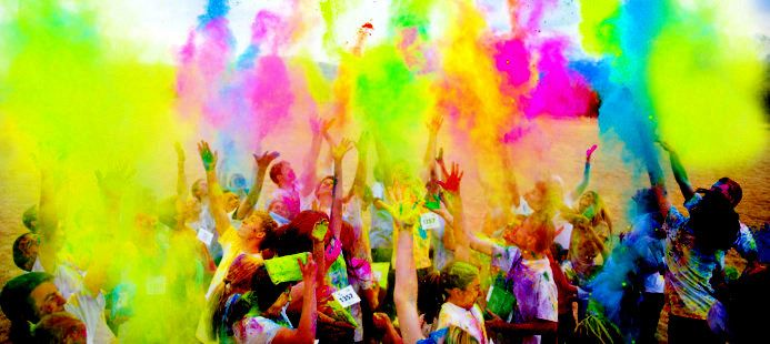 Attend The Holi Festival