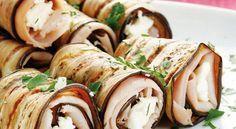 Almuerza con estos rollitos de berenjena fitness | Adelgazar – Bajar de Peso