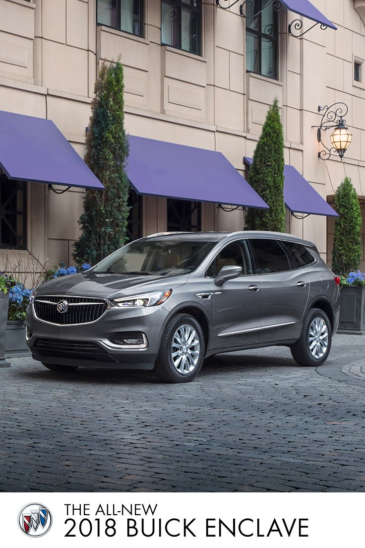 Stunning style meets premium accomodations. See where it all comes together in the All-New Buick Enclave.