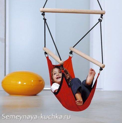 как сделать детский гамак