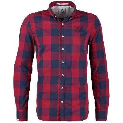 Hemd mit Karomuster - Modisches rotes Hemd von GAASTRA. Karomuster sind echte Klassiker und kommen nie aus der Mode. Das Langarmhemd ist ideal für einen coolen Freizeit-Look. - ab 59,95€