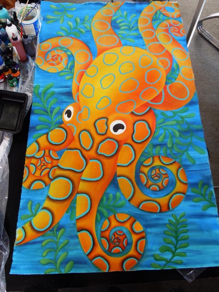 257 best fabric painting images on Pinterest | Fabric ...