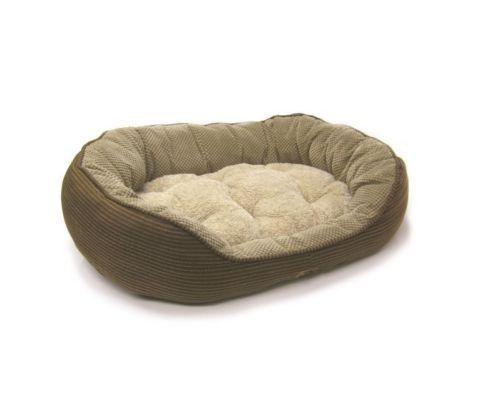 Brown-Pillow-Soft-Dog-Bed-Comfortable-Pet-Cushion-Large-Pad-Animal-Sleep-Station