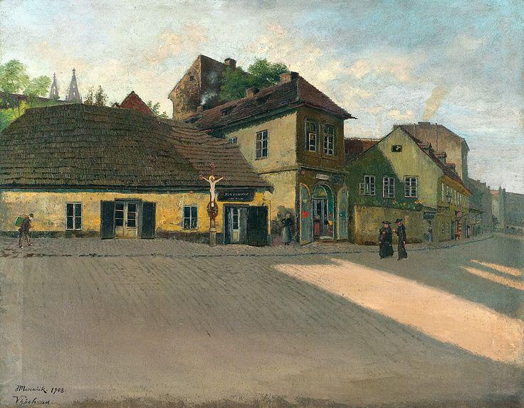 Jan Minařík - Vratislavova ulice (1908)