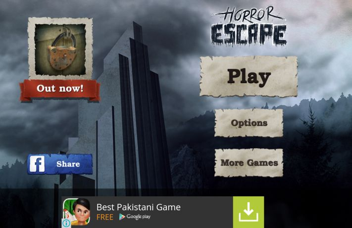 "Horror Escape Game Review  ""I came across this game by the name of Horror Escape where you have to solve puzzles by finding clues. There are many other apps which follow the same style of hiding clues and then the user has to find them, but i found this game intriguing as it has a back story, and the ambiance of the game suites it quite well."""