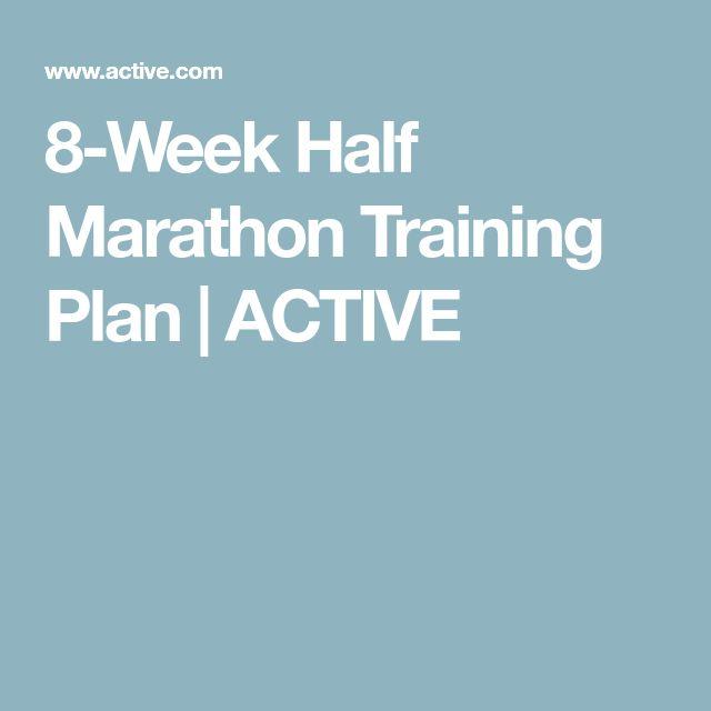 8-Week Half Marathon Training Plan | ACTIVE