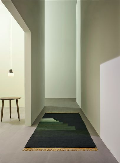 Another Rug - AP2 in Green Jade by All The Way To Paris.