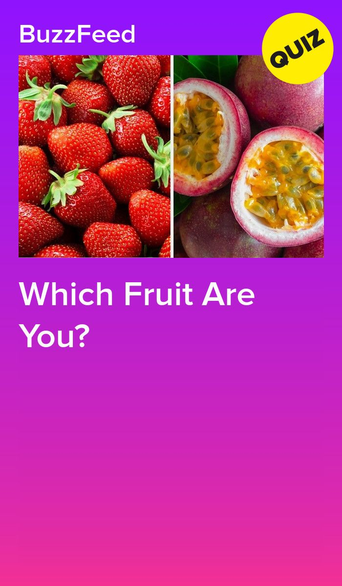 Which Fruit Are You Fruit Quiz Food Quiz Fruit