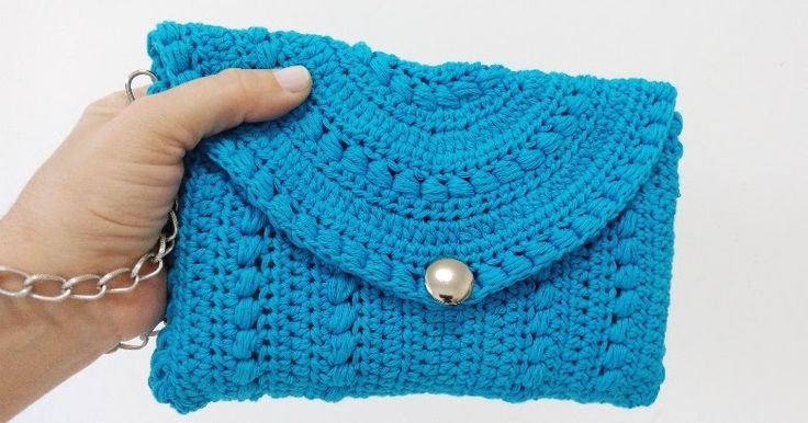 Clutch crochet paso a paso