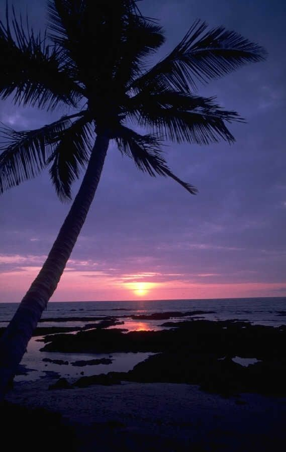 Guam beach & sunset