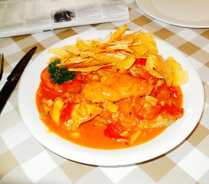 "Macanese ""African Chicken"" – Galinha à Africana via @thefooddictator"