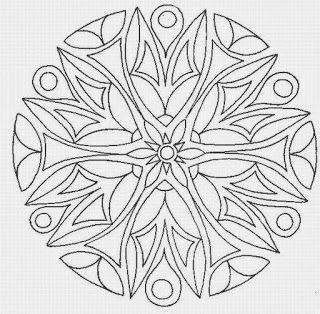 Mandalas Para Pintar: mandalas para pintar con ejemplo