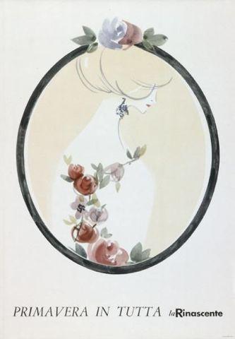 By Lora Lamm (born 1928), 1956, Primavera in tutta la Rinascente. (I)