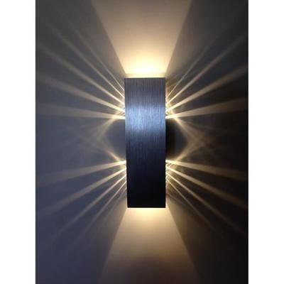 Good Applique murale x W Blanc Chaud Lampe murale Lampe LED Effet pour Chambre Couloir Salon Classe nerg tique A