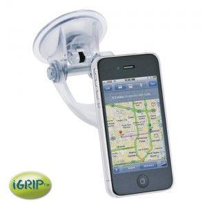 iGrip Traveler Kit - Transparente Autohalterung für iPhone 4S/4 bei www.StyleMyPhone.de