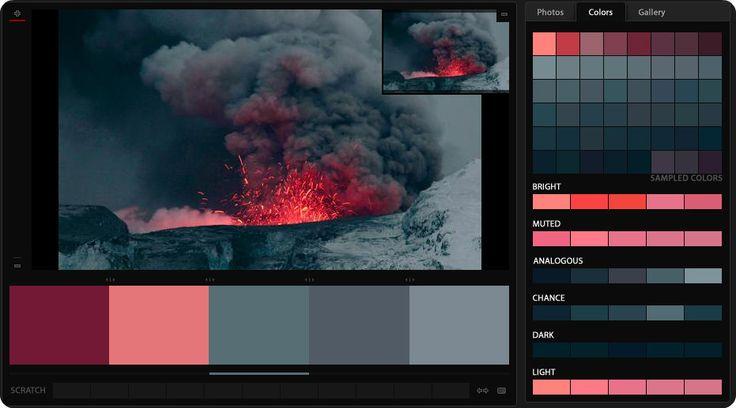 Egy vulkán is lehet szép :)