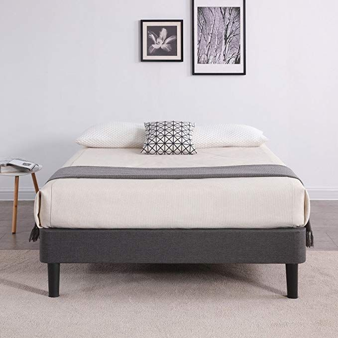 Classic Brands Decoro Claridge Upholstered Platform Bed Upholstered Platform Bed Wood Platform Bed Bed Slats