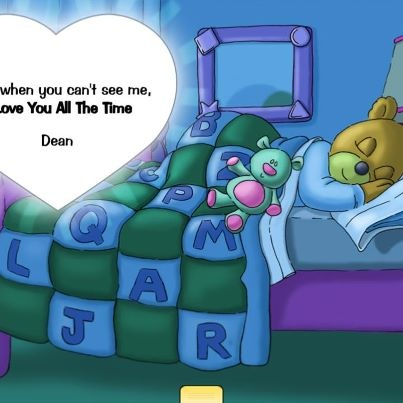 Photo: Mama bear and Papa bear love their baby bear all the time. A book app and the verses are then sung as a bedtime lullaby. If you have little ones, check it out.  http://www.smartappsforkids.com/2012/11/i-love-you-all-the-time-review.html