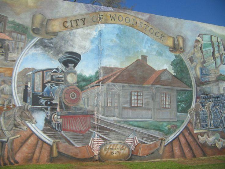 Woodstock, GA : Main Street