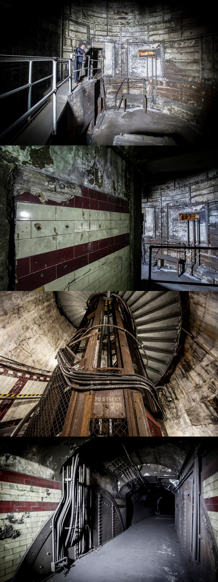 Creepy photos of this abandoned tube station in central London – and TfL are looking for a buyer, if you have a few million going spare...