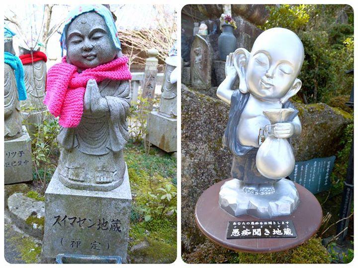 ☆共和AMELお寺巡り☆ 広島県厳島神社に行ってきました。 可愛いお地蔵さんがいました。 その名も「すいません地蔵」。 こんなお地蔵さんがいたら怒りたくても 怒れないですヨネ♫ また一つとてもユニークなお地蔵さんを 発見! その名も「愚痴聞き地蔵」。 こんなお地蔵さんが近くにいたら ありがたいですヨネ♫ <URL> http://www.kyowayakuhin.co.jp/