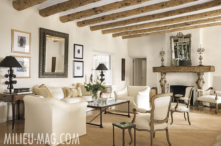 Santa Fe home featured in the Spring 2014 issue of MILIEU.: