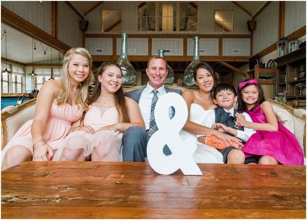 blended family wedding photo ideas so cute!