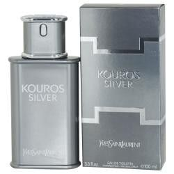 Kouros Silver By Yves Saint Laurent Edt Spray 3.4 Oz
