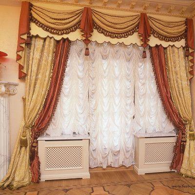 Французские шторы #0216