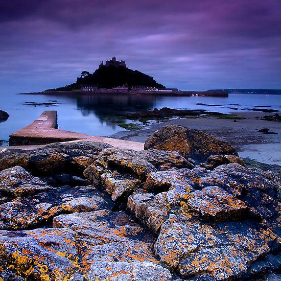 """""""Dawn Over St Michael's Mount"""""""