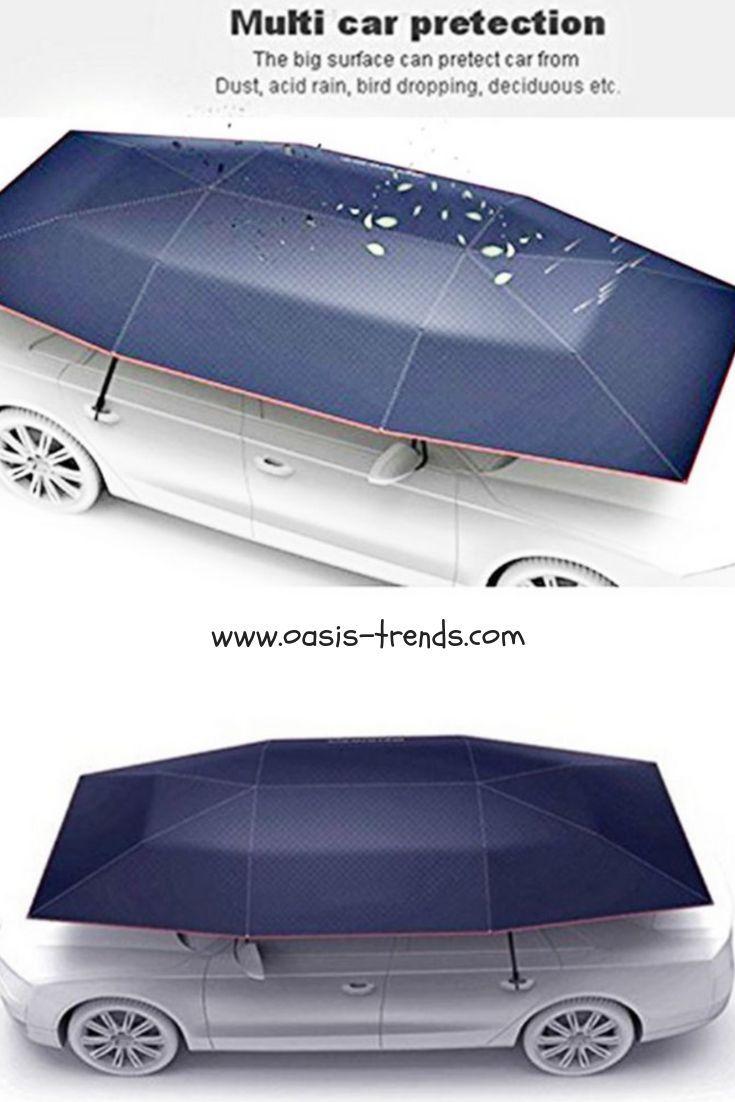 Portable Fully Automatic Car Umbrella Automotive Sun Umbrella