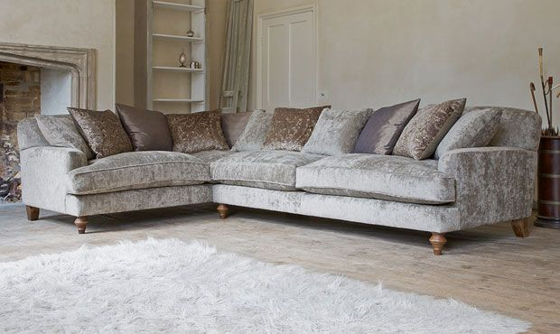 Galloway Corner Sofa - High Quality, Hand Crafted Leather Sofas: Darlings of Chelsea
