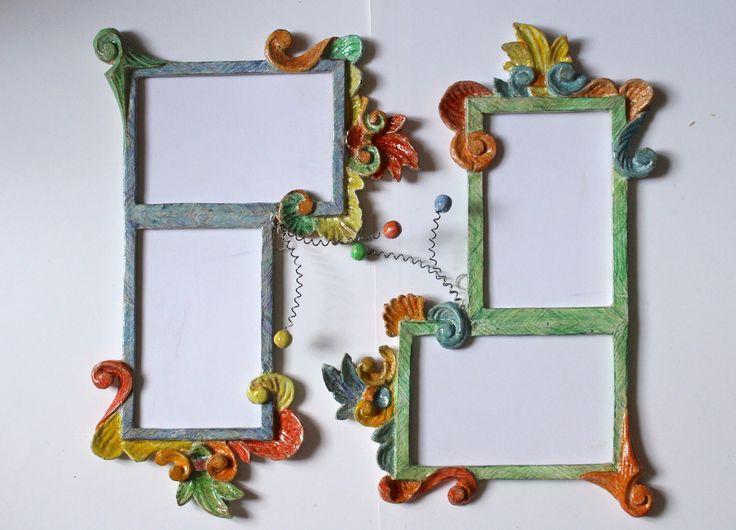 Cornice porta foto handmade di Arte Enrica Barozzi su DaWanda.com https://www.etsy.com/shop/ArteEnricaBarozzi?ref=hdr_shop_menu www.enricabarozzi.it