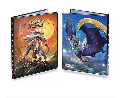 Ultra Pro 9 Pocket Pokemon Binder Portfolio. SM1 Sun & Moon. Holds 90-180 cards