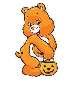 trick or sweet bear
