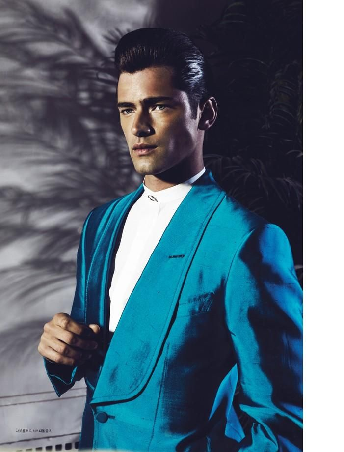 Sean OPry Mixes Spring Styles for LOfficiel Hommes Koreas Cover Shoot