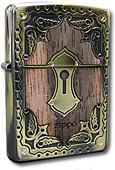 Zippo Antique Smoking Goods Brass Set Lighters Direct - Cigar Lighters, Zippo Lighters, Cigar Cutters, Engraved Lighters 800-768-0047