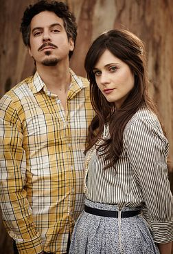 she and him.  LOVE M. Ward!