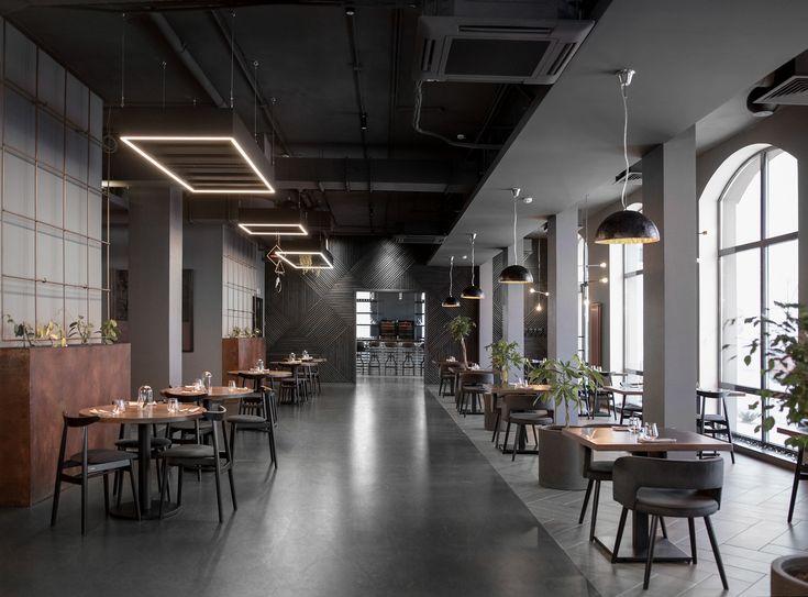 Simple Restaurant On Behance In 2019 Restaurant Interior