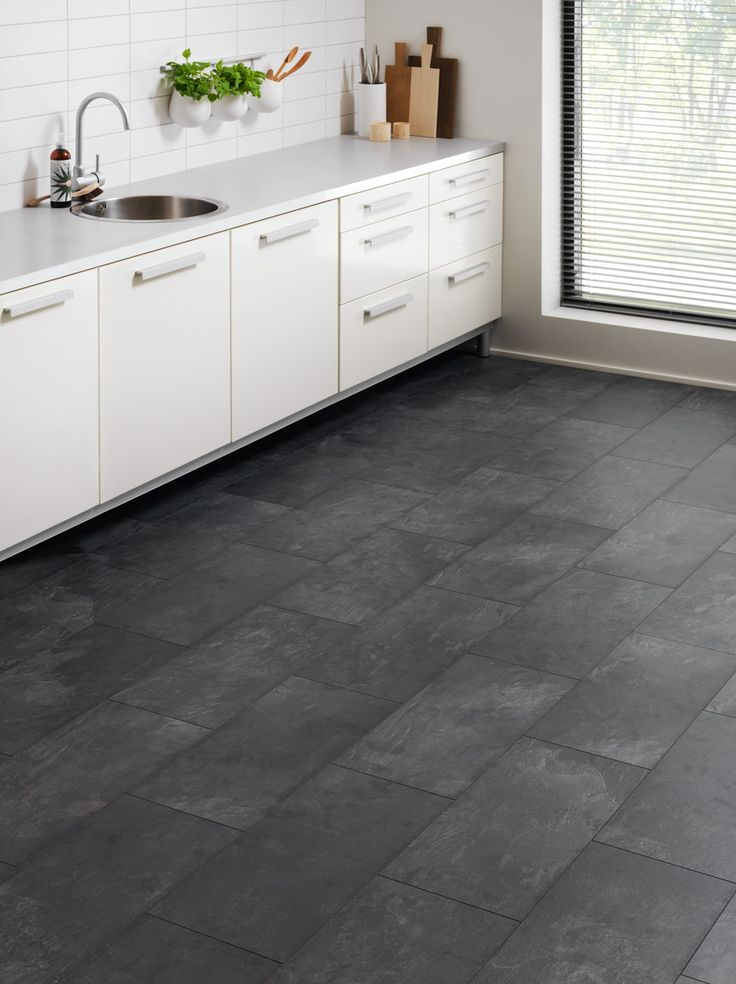 Køkken-alrum - praktiske gulve