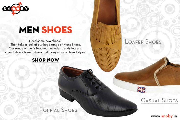 Men footwear | Snoby